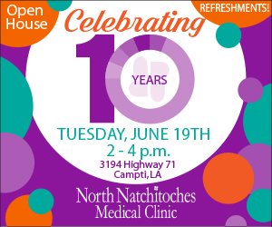 North Natchitoches Medical Clinic – 10 Year 300×250