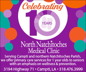 North Natchitoches Medical Clinic – 10 Year 300×250 #2