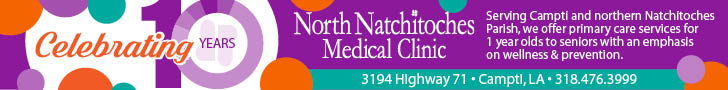 North Natchitoches Medical Clinic – 10 Year 728×90 #2