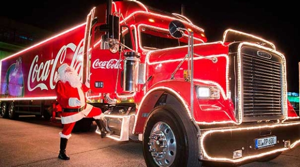 Coca Cola Christmas.Coca Cola Christmas Truck Coming To Rue Beauport Riverfront