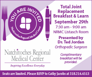 NRMC Joint Replacement Breakfast